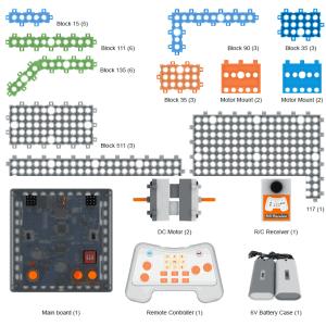 חלקים לערכות CyberBot